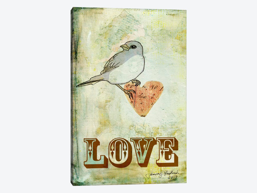 Love by Tammy Kushnir 1-piece Canvas Print