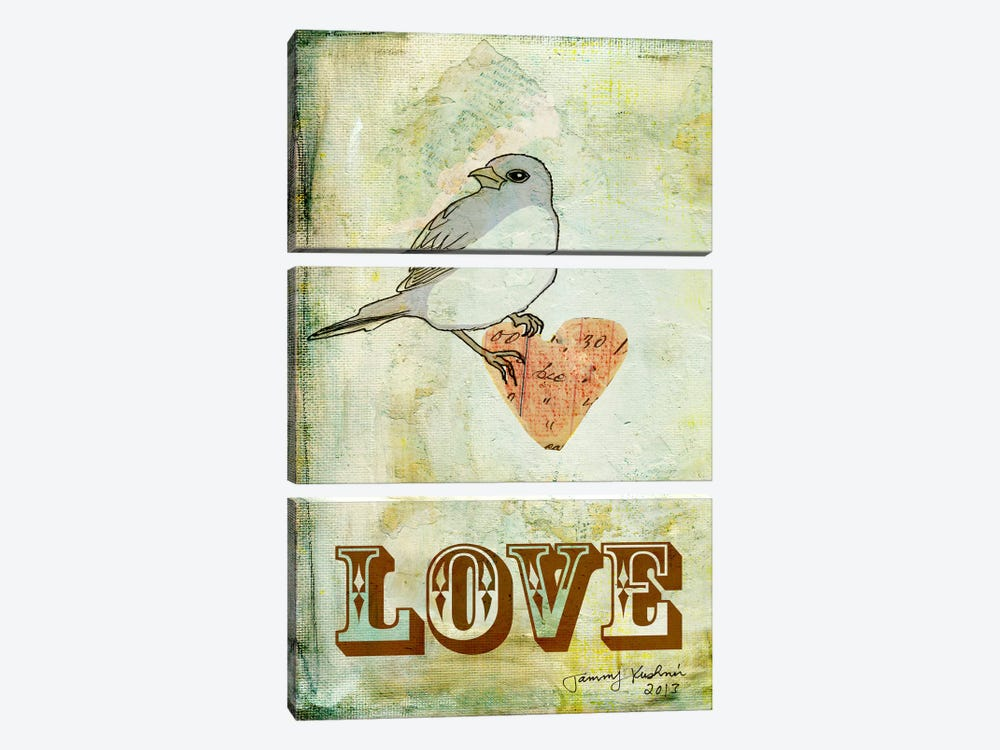 Love by Tammy Kushnir 3-piece Art Print