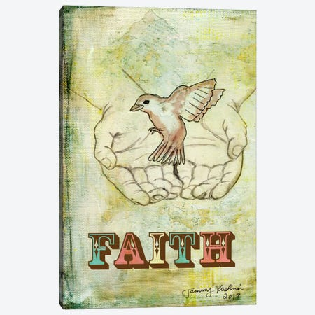 Faith Canvas Print #TMK15} by Tammy Kushnir Canvas Art Print