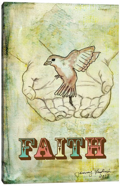 Faith Canvas Print #TMK15