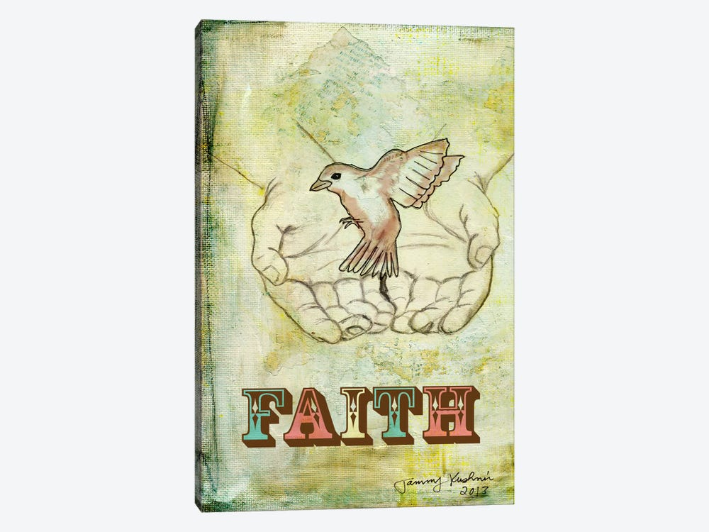 Faith by Tammy Kushnir 1-piece Canvas Artwork