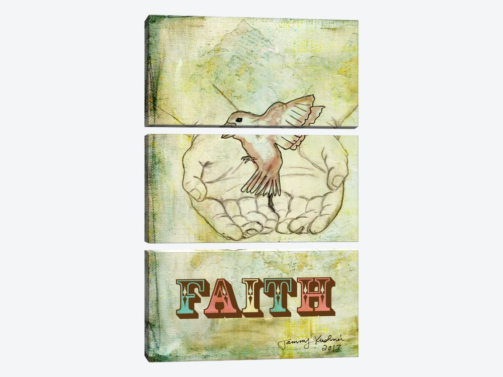 Faith by Tammy Kushnir 3-piece Canvas Artwork