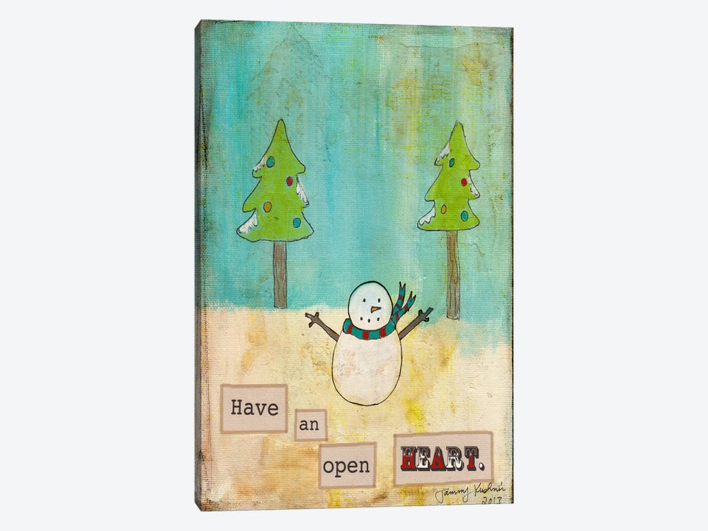 Have An Open Heart by Tammy Kushnir 1-piece Canvas Art