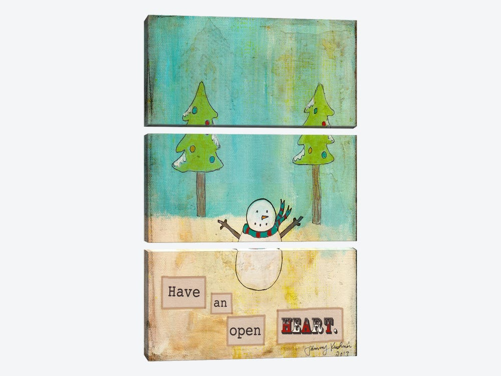 Have An Open Heart 3-piece Canvas Wall Art