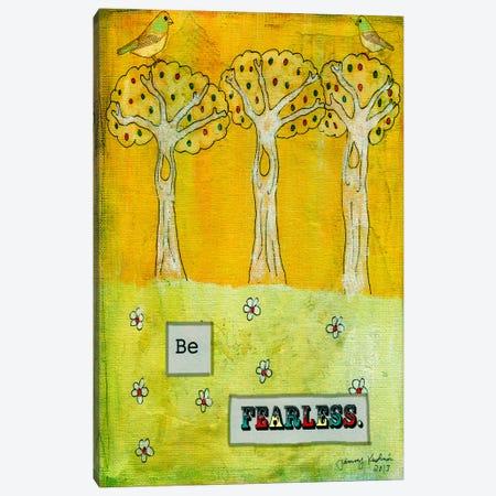 Be Fearless Canvas Print #TMK28} by Tammy Kushnir Canvas Art Print