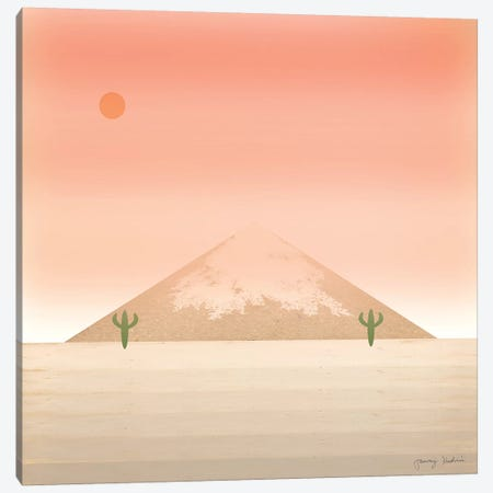 Cactus Desert II Canvas Print #TMK49} by Tammy Kushnir Canvas Art Print