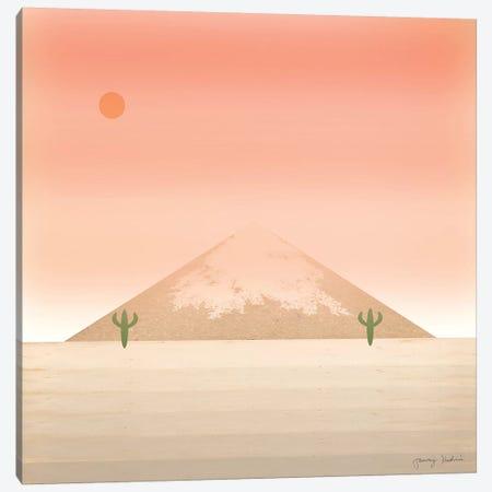 Cactus Desert II 3-Piece Canvas #TMK49} by Tammy Kushnir Canvas Art Print