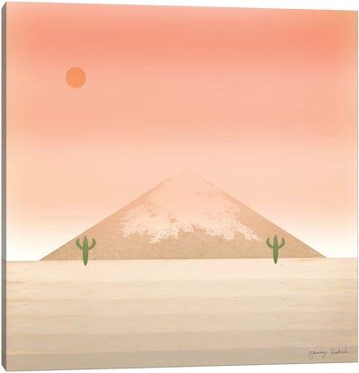 Cactus Desert II Canvas Art Print