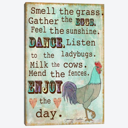Country Living Canvas Print #TMK4} by Tammy Kushnir Canvas Artwork