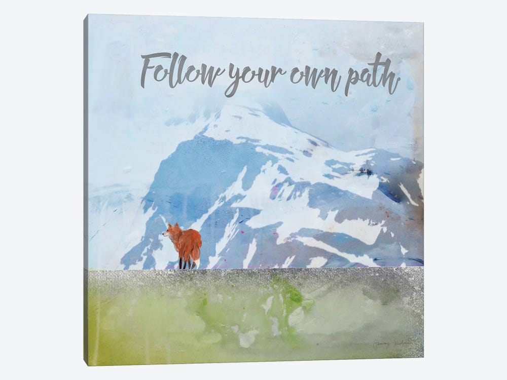 Follow Your Own Path by Tammy Kushnir 1-piece Canvas Wall Art