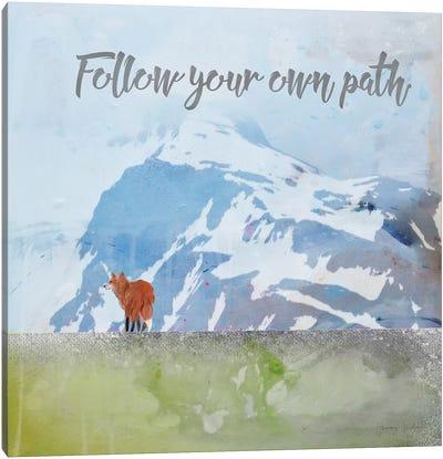 Follow Your Own Path Canvas Art Print