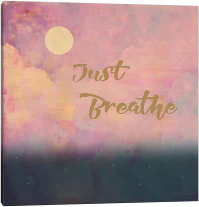 Just Breathe Canvas Art Print