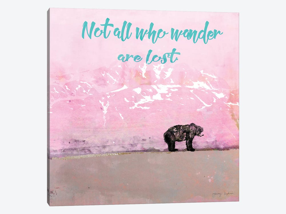 Not All Who Wander by Tammy Kushnir 1-piece Canvas Artwork