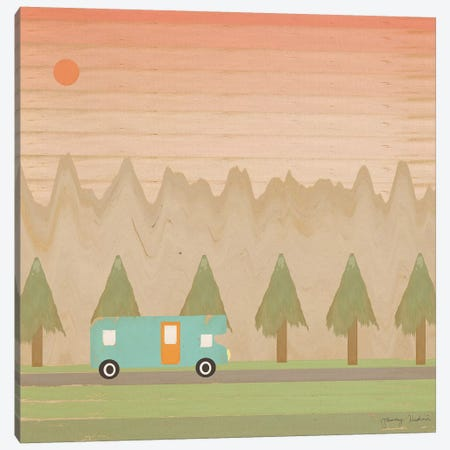 Search For Adventure I Canvas Print #TMK59} by Tammy Kushnir Canvas Wall Art