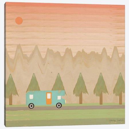 Search For Adventure I Canvas Print #TMK59} by Tammy Kushnir Canvas Wall Art