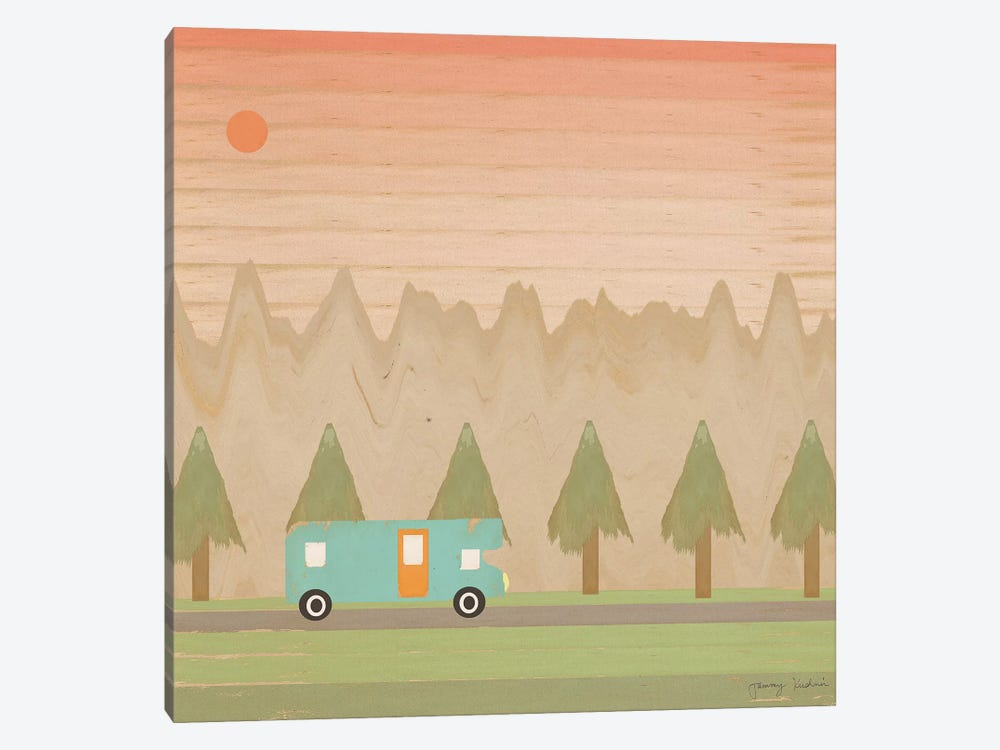 Search For Adventure I by Tammy Kushnir 1-piece Canvas Artwork