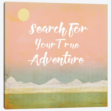 Search for Adventure II Canvas Print #TMK60} by Tammy Kushnir Canvas Print