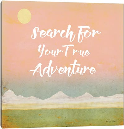 Search for Adventure II Canvas Art Print