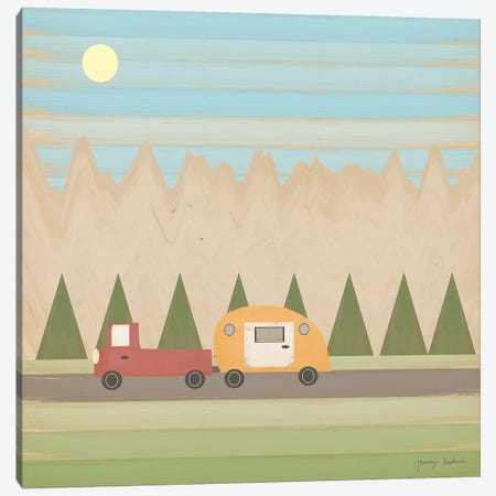 Search for Adventure III Canvas Print #TMK61} by Tammy Kushnir Art Print
