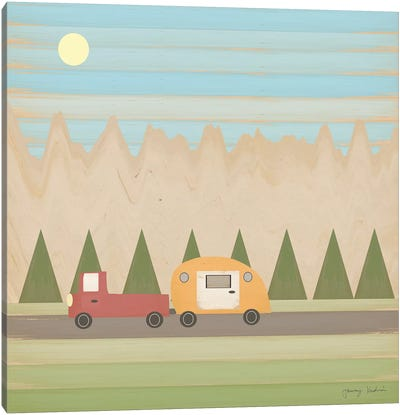 Search for Adventure III Canvas Art Print