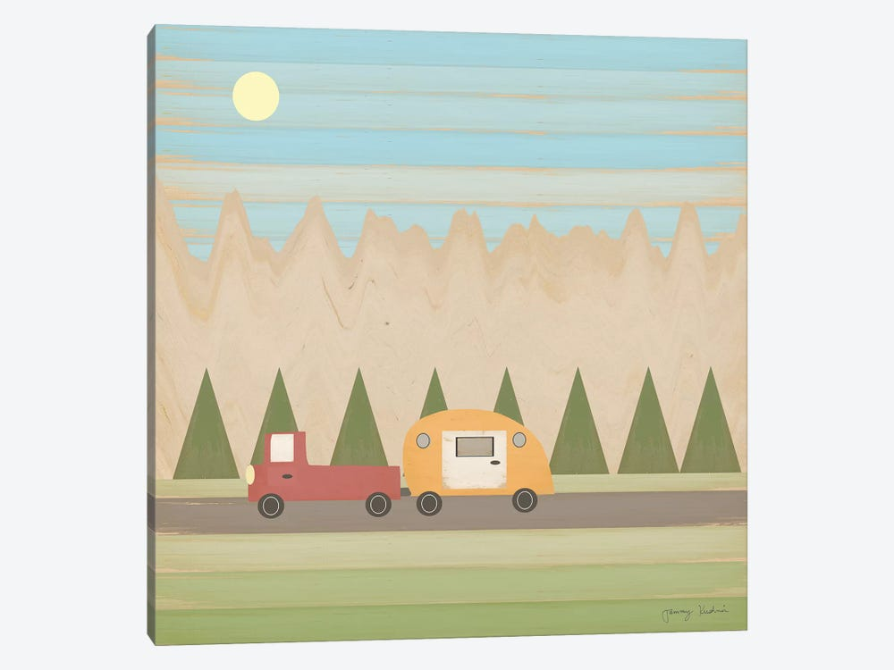 Search for Adventure III by Tammy Kushnir 1-piece Canvas Print