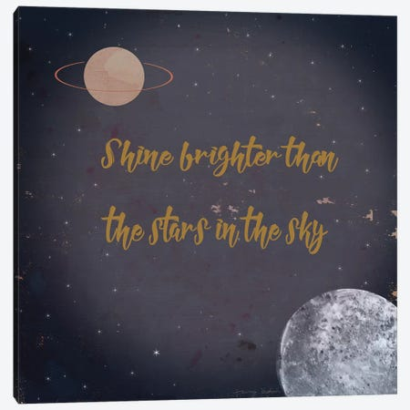 Shine Brighter Canvas Print #TMK65} by Tammy Kushnir Canvas Artwork