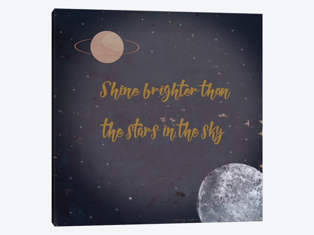 Shine Brighter by Tammy Kushnir 1-piece Canvas Art Print