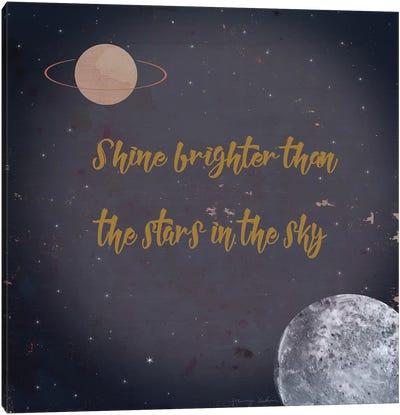 Shine Brighter Canvas Art Print