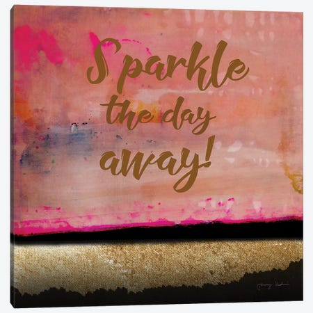 Sparkle The Day Away Canvas Print #TMK66} by Tammy Kushnir Canvas Artwork