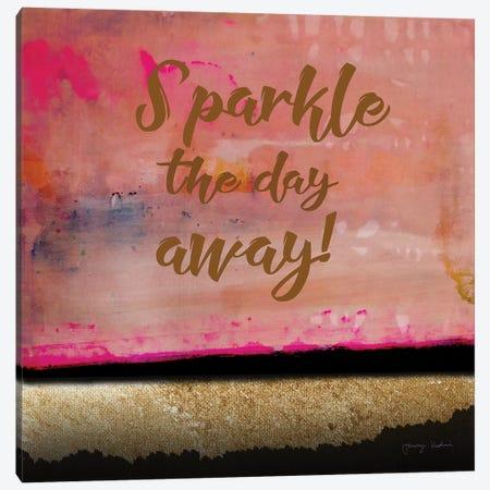Sparkle The Day Away Canvas Print #TMK66} by Tammy Kushnir Canvas Artwork