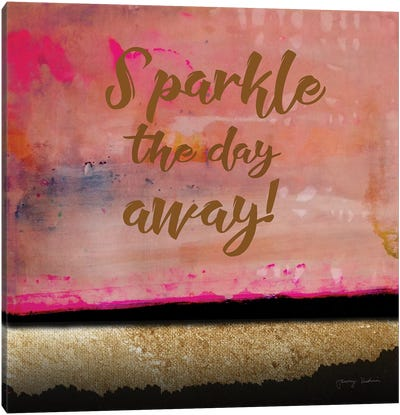 Sparkle The Day Away Canvas Art Print