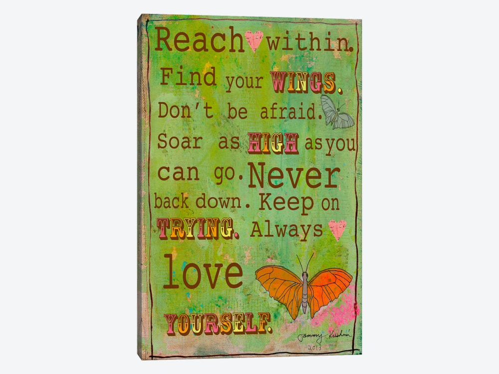 Reach Within by Tammy Kushnir 1-piece Art Print