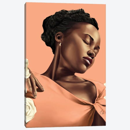 Lupita Canvas Print #TML10} by Tafari Mills Canvas Art Print