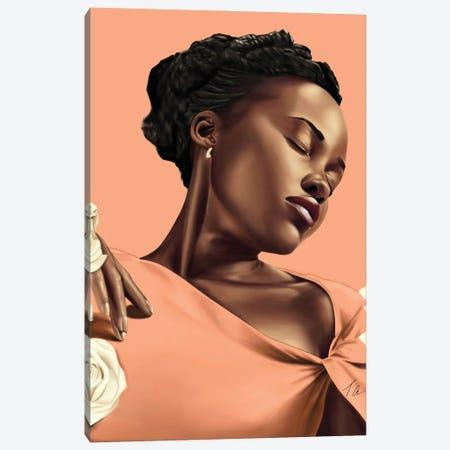 Lupita Canvas Print #TML10} by Tafari Mills Canvas Art Print