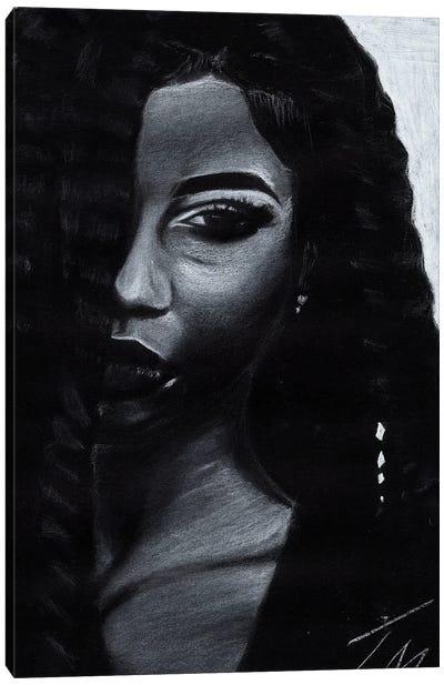 Low Key Canvas Art Print