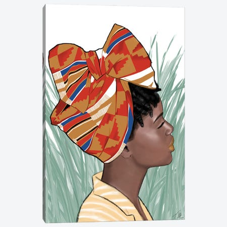Tall Grass Canvas Print #TML21} by Tafari Mills Canvas Art