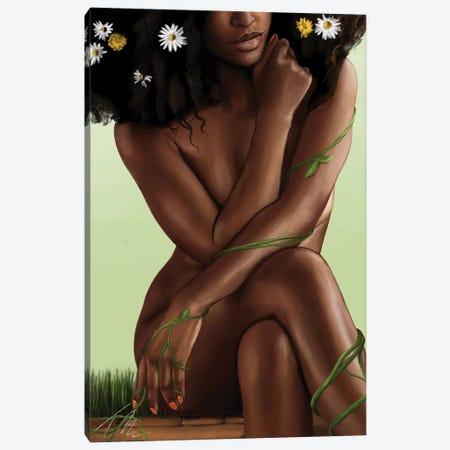 Roots Canvas Print #TML27} by Tafari Mills Canvas Art Print