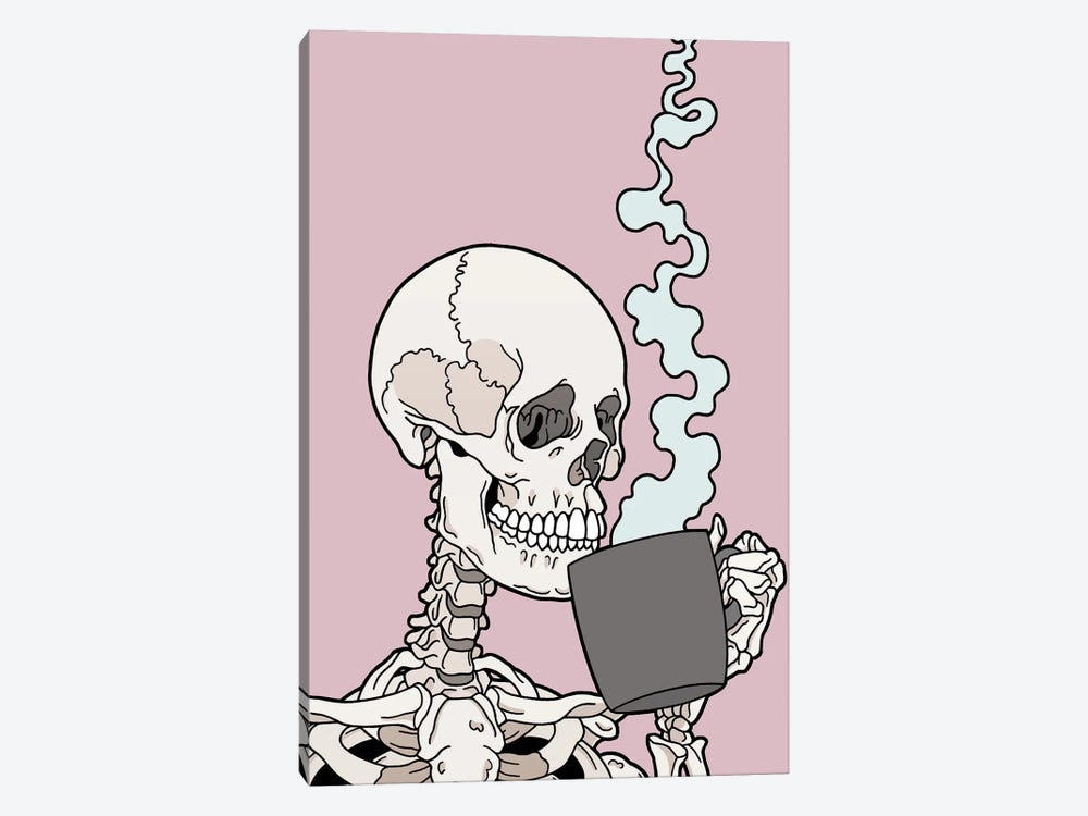 Coffee! by Tiina Menzel 1-piece Canvas Print