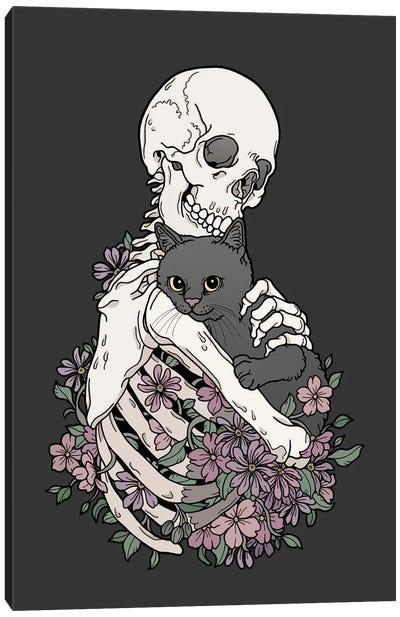 Cuddlecat Canvas Art Print
