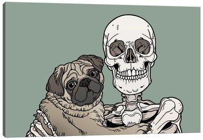Pug Friend Canvas Art Print