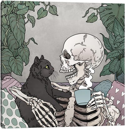 Best Friends Forever Canvas Art Print