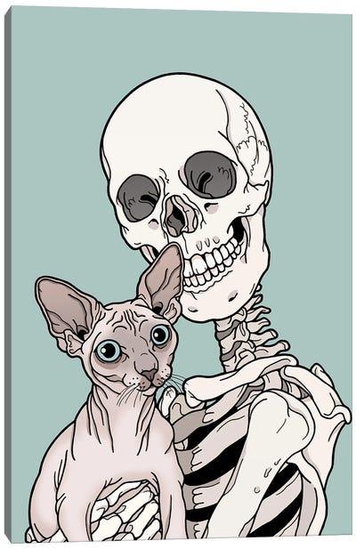 Sphinx Cat Friend Canvas Art Print