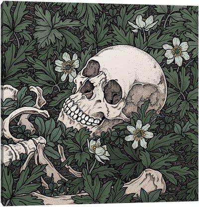 Windflowers Canvas Art Print