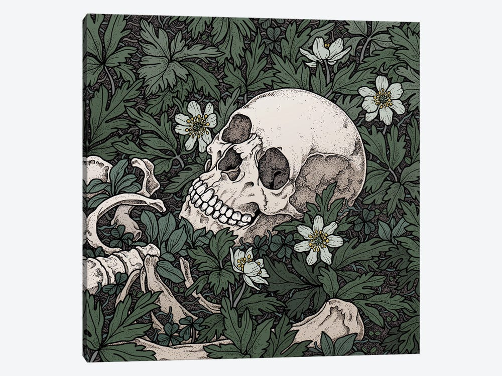 Windflowers by Tiina Menzel 1-piece Canvas Art Print