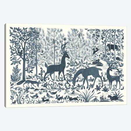 Forest Life I Canvas Print #TMS10} by Miranda Thomas Canvas Art