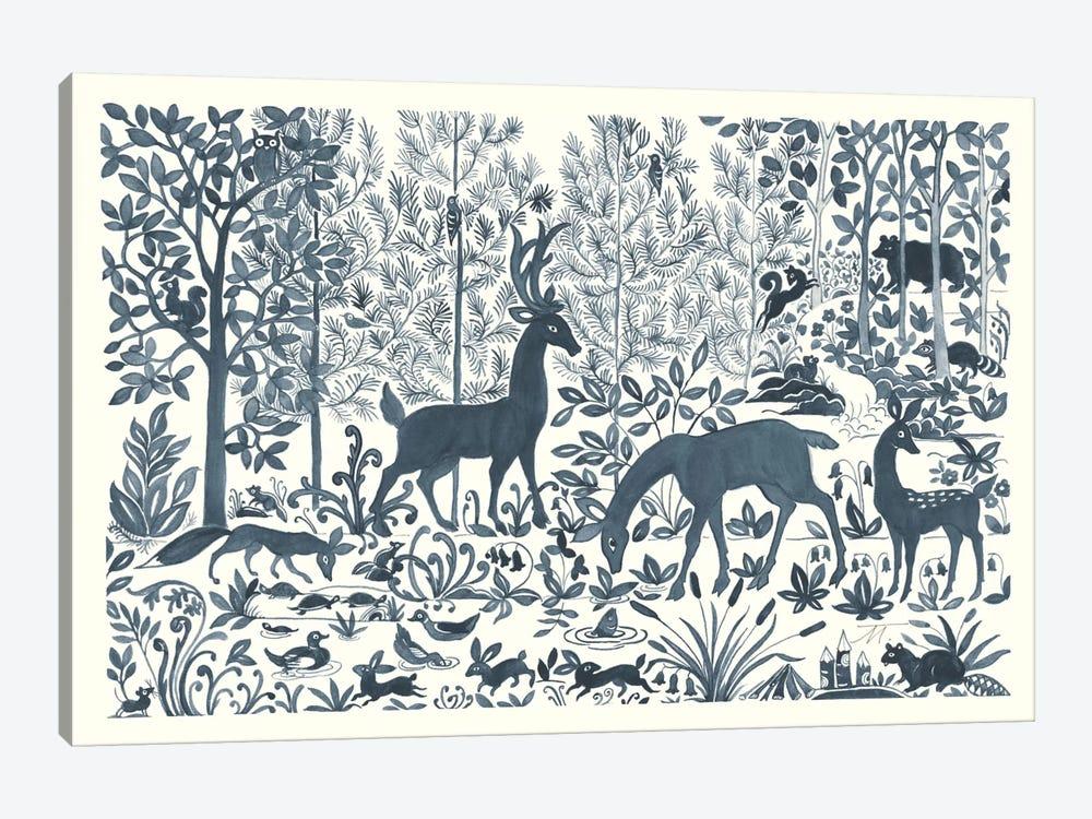 Forest Life I by Miranda Thomas 1-piece Canvas Print
