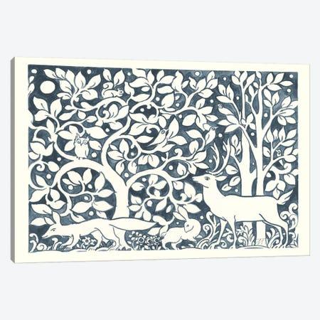 Forest Life IV Canvas Print #TMS12} by Miranda Thomas Canvas Artwork