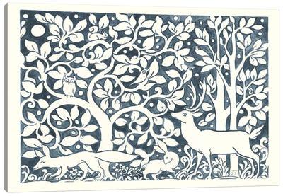 Forest Life IV Canvas Art Print