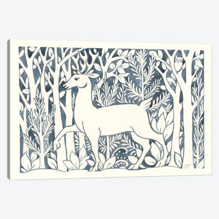 Forest Life V Canvas Print #TMS13} by Miranda Thomas Canvas Wall Art