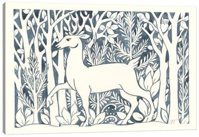 Forest Life V Canvas Art Print